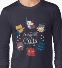 Camiseta de manga larga Dungeons and Cats