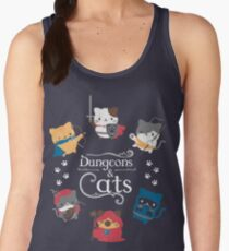 Dungeons and Cats Women's Tank Top