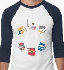 Dungeons and Cats Men's Baseball ¾ T-Shirt