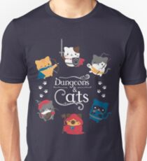Dungeons and Cats Unisex T-Shirt
