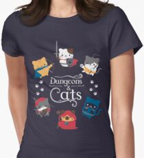 Dungeons and Cats Women's Fitted T-Shirt