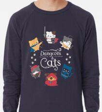 Dungeons and Cats Lightweight Sweatshirt