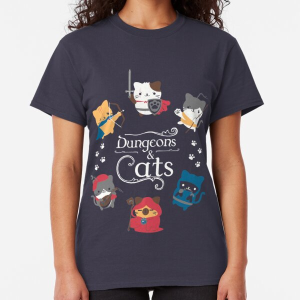 Dungeons and Cats Camiseta clásica