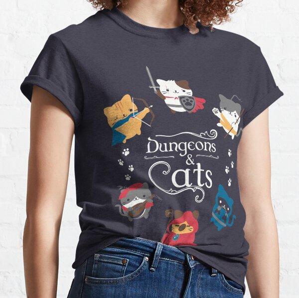 Dungeons und Katzen Classic T-Shirt