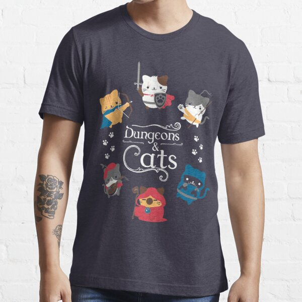 Dungeons and Cats Essential T-Shirt
