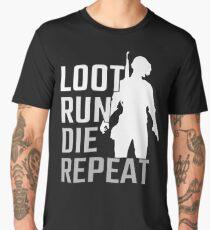 Loot Run Die Repeat PUBG Men's Premium T-Shirt
