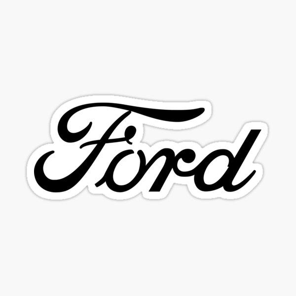 Ford Script Sticker