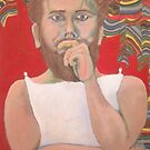 Self Portrait in costume 1966 by James Lewis Hamilton