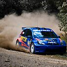 140 kph through the forest...looks so easy by Adrian Jeffs