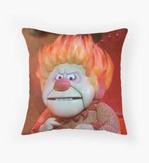 Heat Miser Throw Pillow