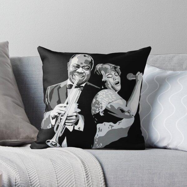 Louie & Ella Throw Pillow