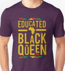 EDUCATION BY BLACK QUEEN... AFRICA T-Shirt