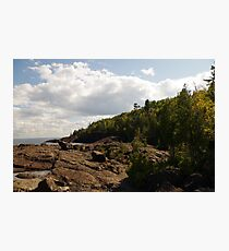 Black Rocks Photographic Print