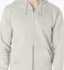 Steve's Bat with Nails Zipped Hoodie
