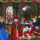 ~ Santa Cat has too much Christmas cheer ~ by Nadya Johnson
