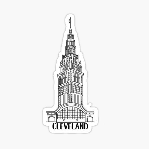 Cleveland Terminal Tower Sticker