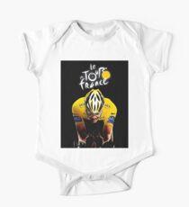 LE TOUR DE FRANCE: Bicycle Racing Print Kids Clothes