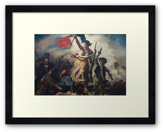 Liberty Leading the People by SnafuShelton