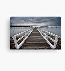 Impressions from a grey morning in Batemans Bay/NSW/Australia (14) Canvas Print