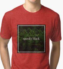 Spooky Black Tri-blend T-Shirt