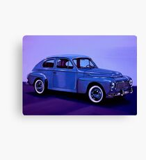 Volvo PV 544 1958 Mixed Media Canvas Print