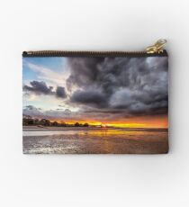 Black Gold Sunset Studio Pouch