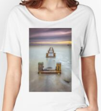 Seaview Outfall Isle Of Wight Women's Relaxed Fit T-Shirt