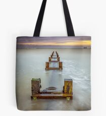 Seaview Outfall Isle Of Wight Tote Bag