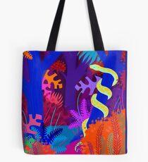 Funky python Tote Bag