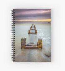 Seaview Outfall Isle Of Wight Spiral Notebook