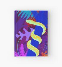 Funky python Hardcover Journal