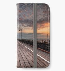 Sunrise On Ryde Pier iPhone Wallet/Case/Skin