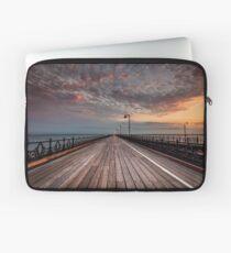 Sunrise On Ryde Pier Laptop Sleeve