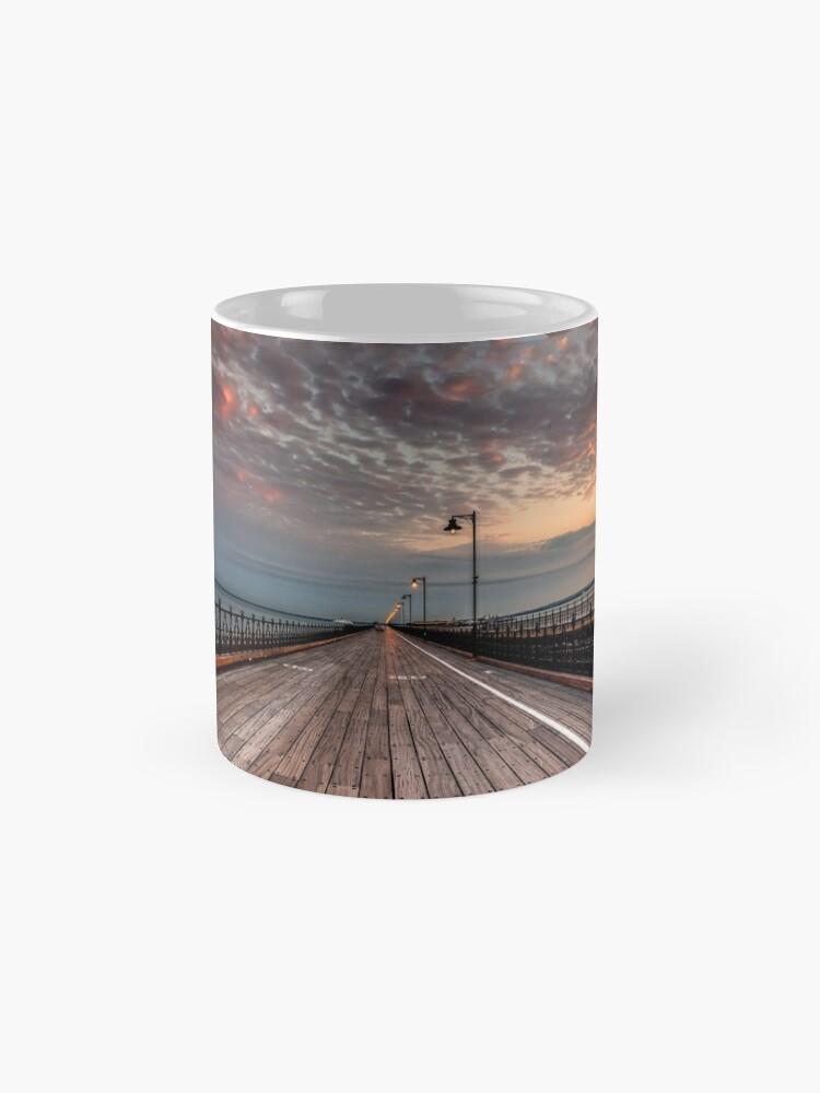 Alternate view of Sunrise On Ryde Pier Mugs