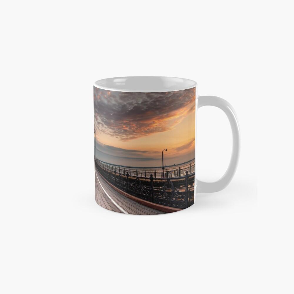 Sunrise On Ryde Pier Mugs