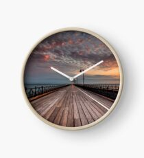 Sunrise On Ryde Pier Clock
