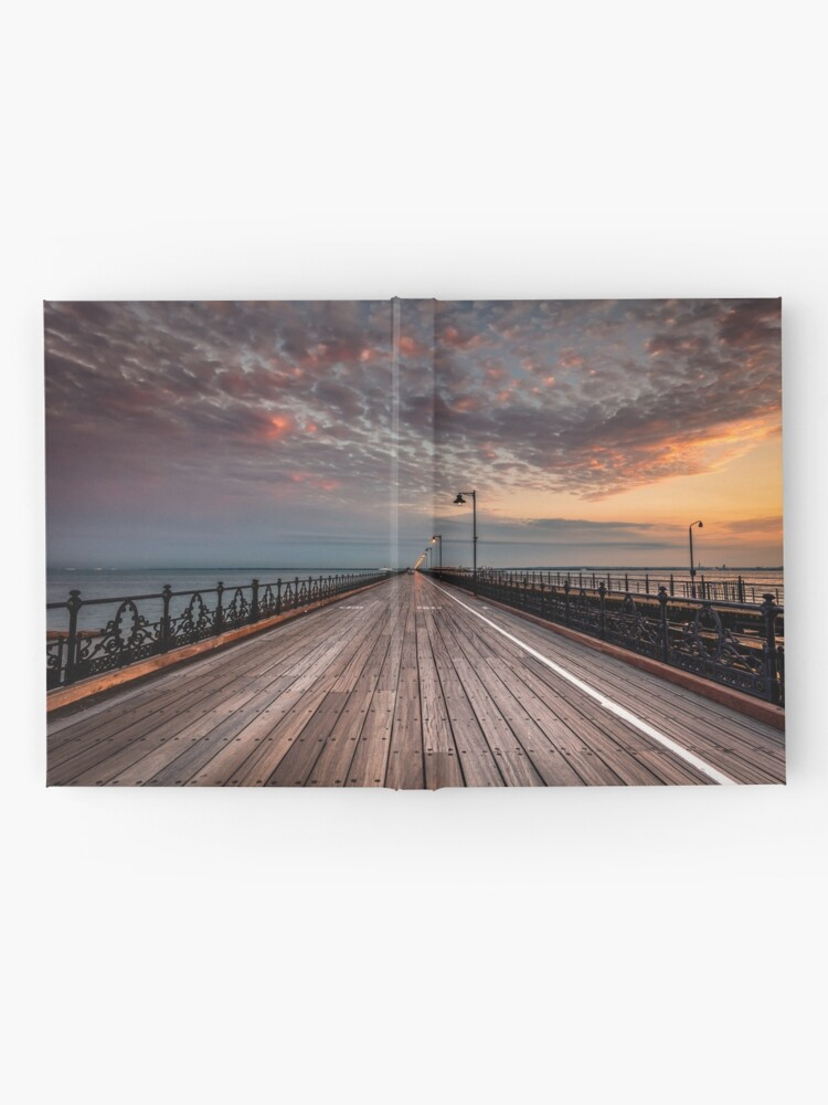 Alternate view of Sunrise On Ryde Pier Hardcover Journal
