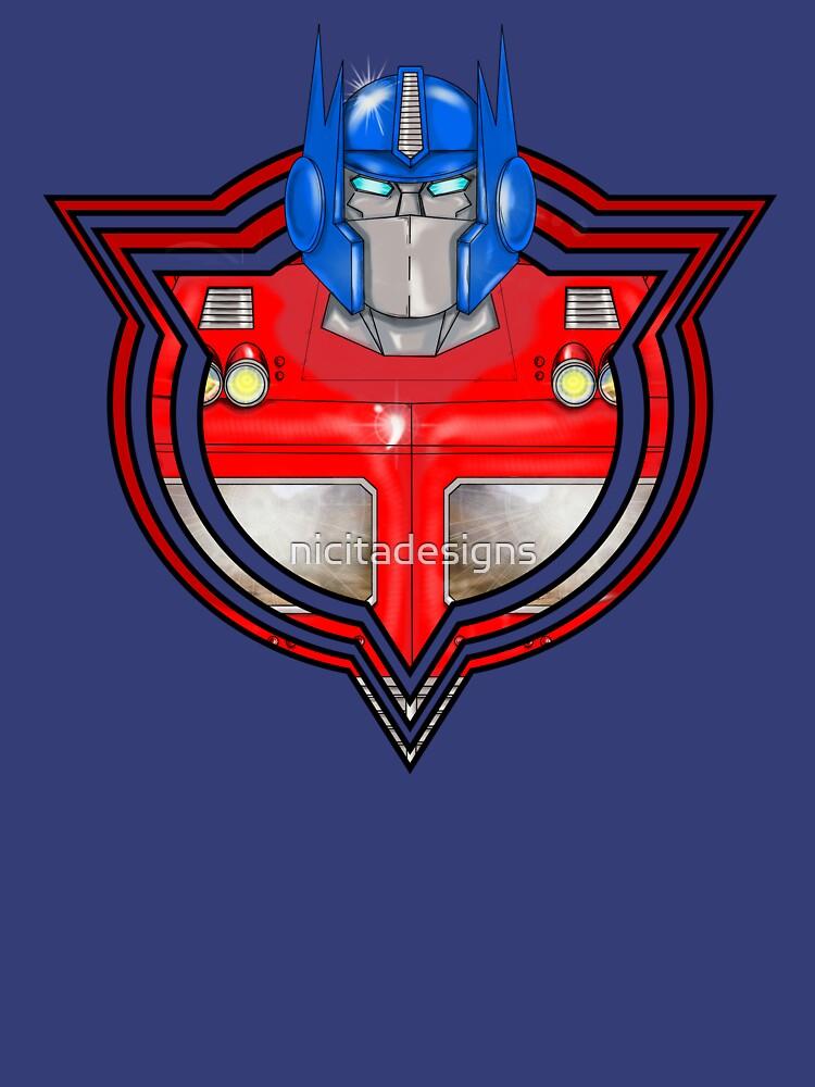 Transformers Optimus Prime G1 by nicitadesigns