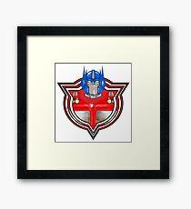 Transformers Optimus Prime G1 Framed Print