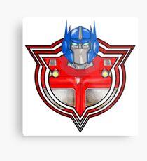Transformers Optimus Prime G1 Metal Print