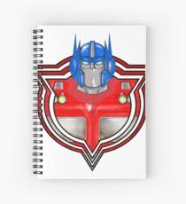 Transformers Optimus Prime G1 Spiral Notebook