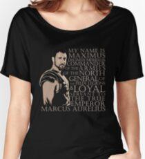 Camiseta ancha para mujer Maximus Decimus