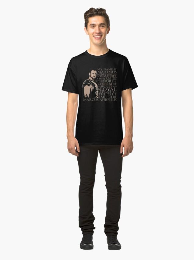 Vista alternativa de Camiseta clásica Maximus Decimus