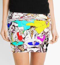2 Futurist Artists Talking Art. Mini Skirt