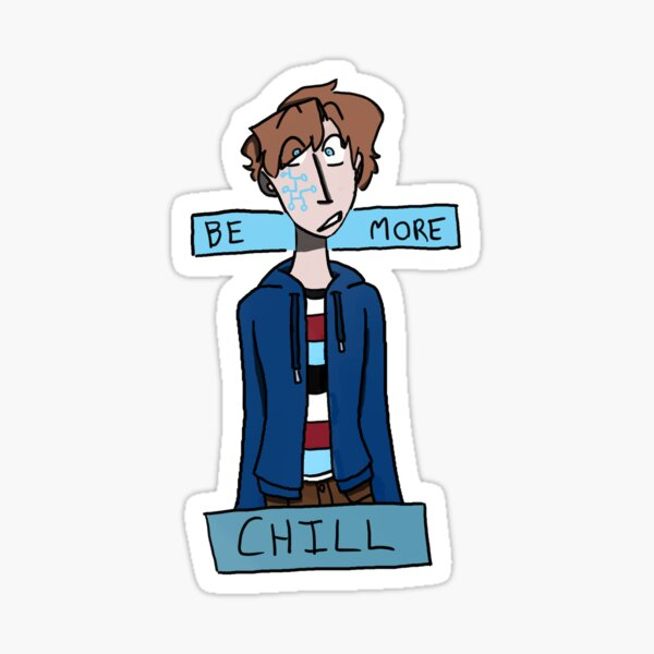 Be More Chill Jeremy Sticker