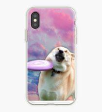Vinilo o funda para iPhone Frisbee Doge