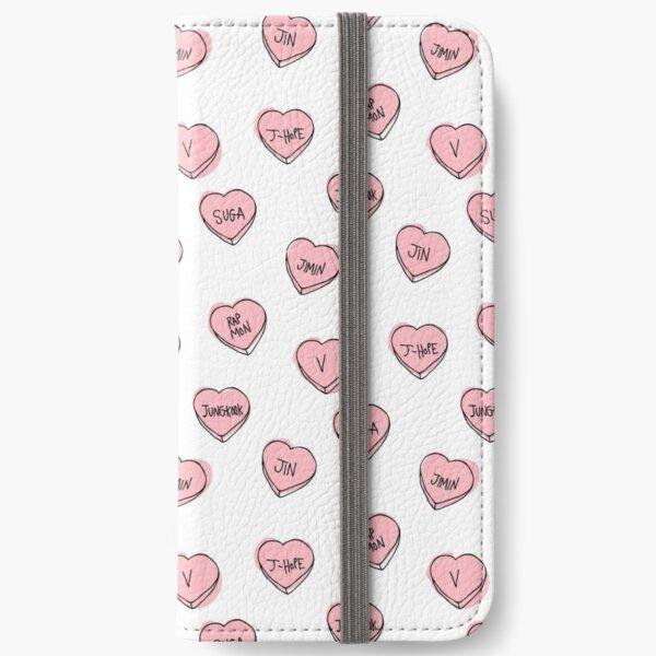 BTS hearts iPhone Wallet