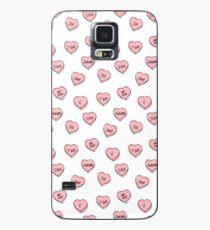 BTS Herzen Hülle & Klebefolie für Samsung Galaxy