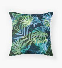 Tropical fiesta - moonlit Floor Pillow