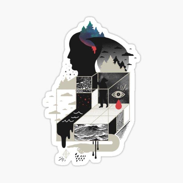 Lucid Screaming Sticker